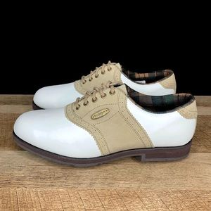 FootJoy SoftJoys Terrains Saddle Golf Shoes